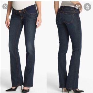 J Brand Mama J Boot Cut Maternity Jeans